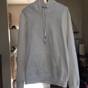 GUESS Debossed Logo Hoodie- Medium
